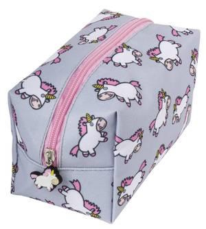 Fringoo Square Pencil Case - Chubby Unicorn