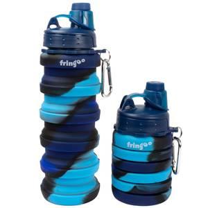 Fringoo Silicone Bottle - Blue