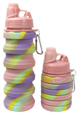 Fringoo Silicone Bottle - Pink/Purple