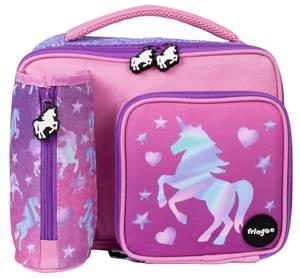 Fringoo Lunch Bag - Unicorn Ombre