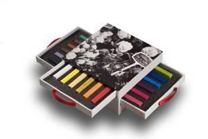 Conte A Paris Carre Colour Blue Box 3 Drawers Of 18 ColorAssorted