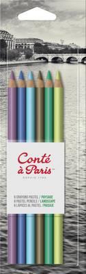 Conte A Paris Pencil Pastel X6 Bli Landsconte A Parise