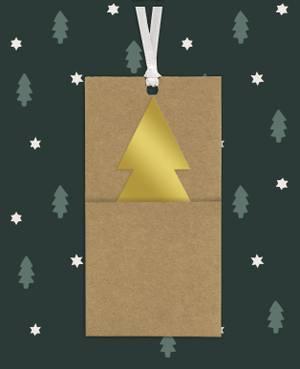 Stewo Gift Tag - Ralf (Light Brown)