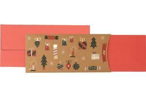 Stewo Christmas Gift Card - Björk (Red)