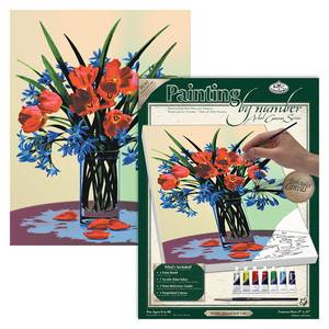 Royal & Langnickel Paint By Number Kit Artist Canvas Series - Floral Still Life