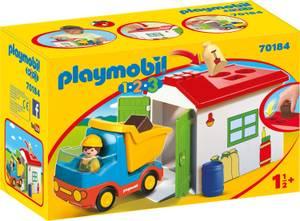 Playmobil 1.2.3 Garbage Truck