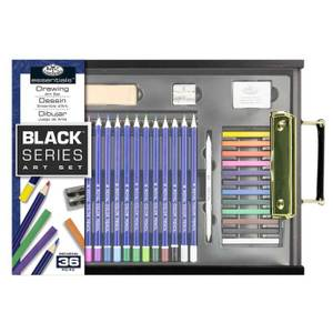 Royal & Langnickel Black Series Drawing Set (RSET-ART4103) - 36 pieces