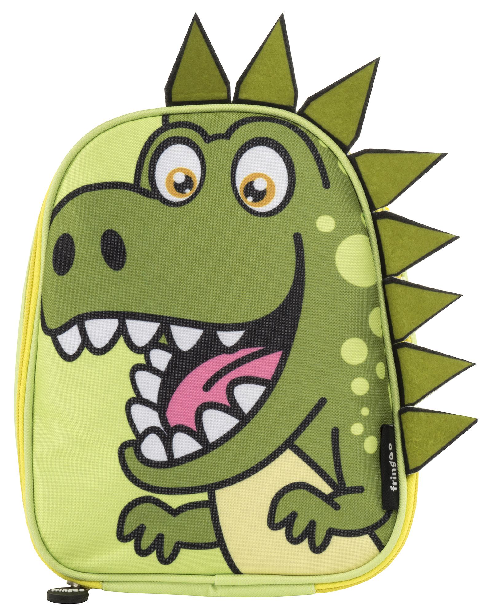 254ad3bca2d2 Fringoo 3D Lunch Bag - Dino
