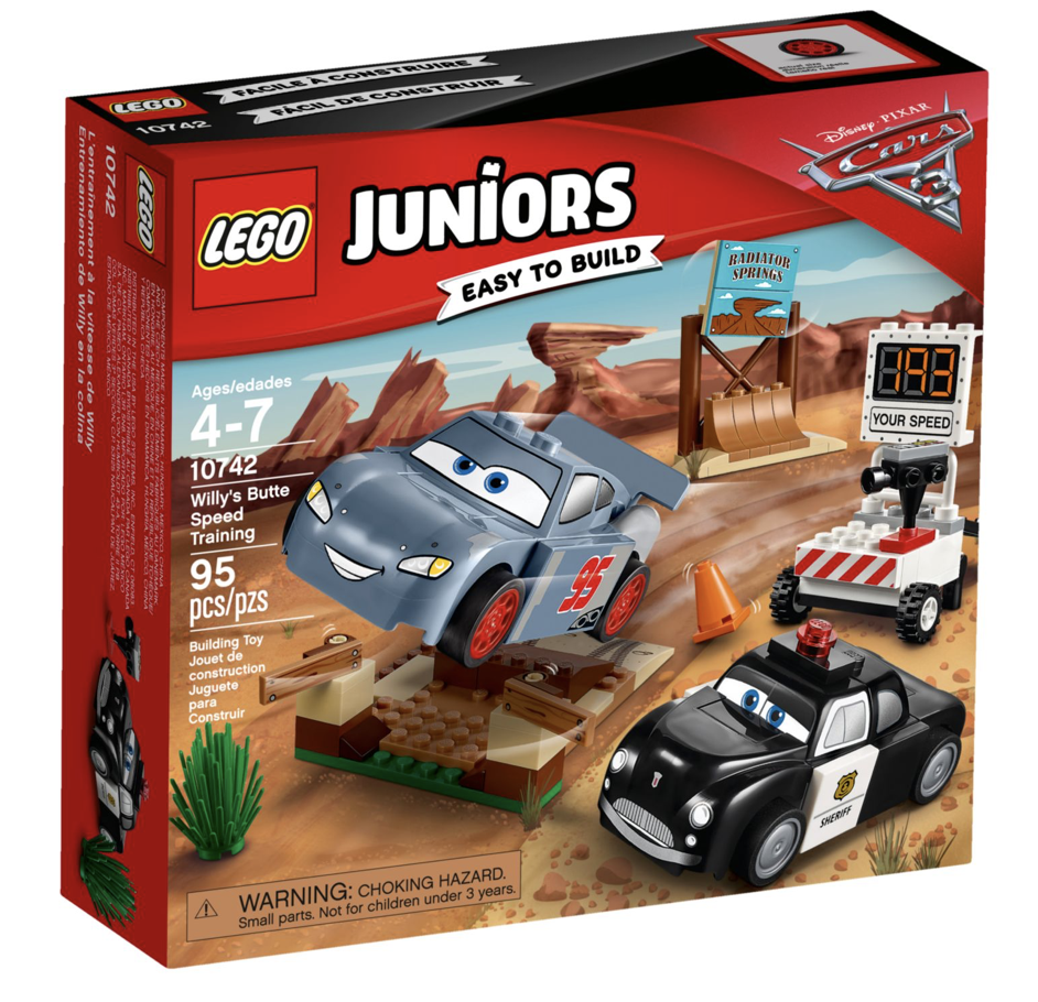 Juniors Butte 3 Willy's Lego Speed Training Cars c4RL53Ajq
