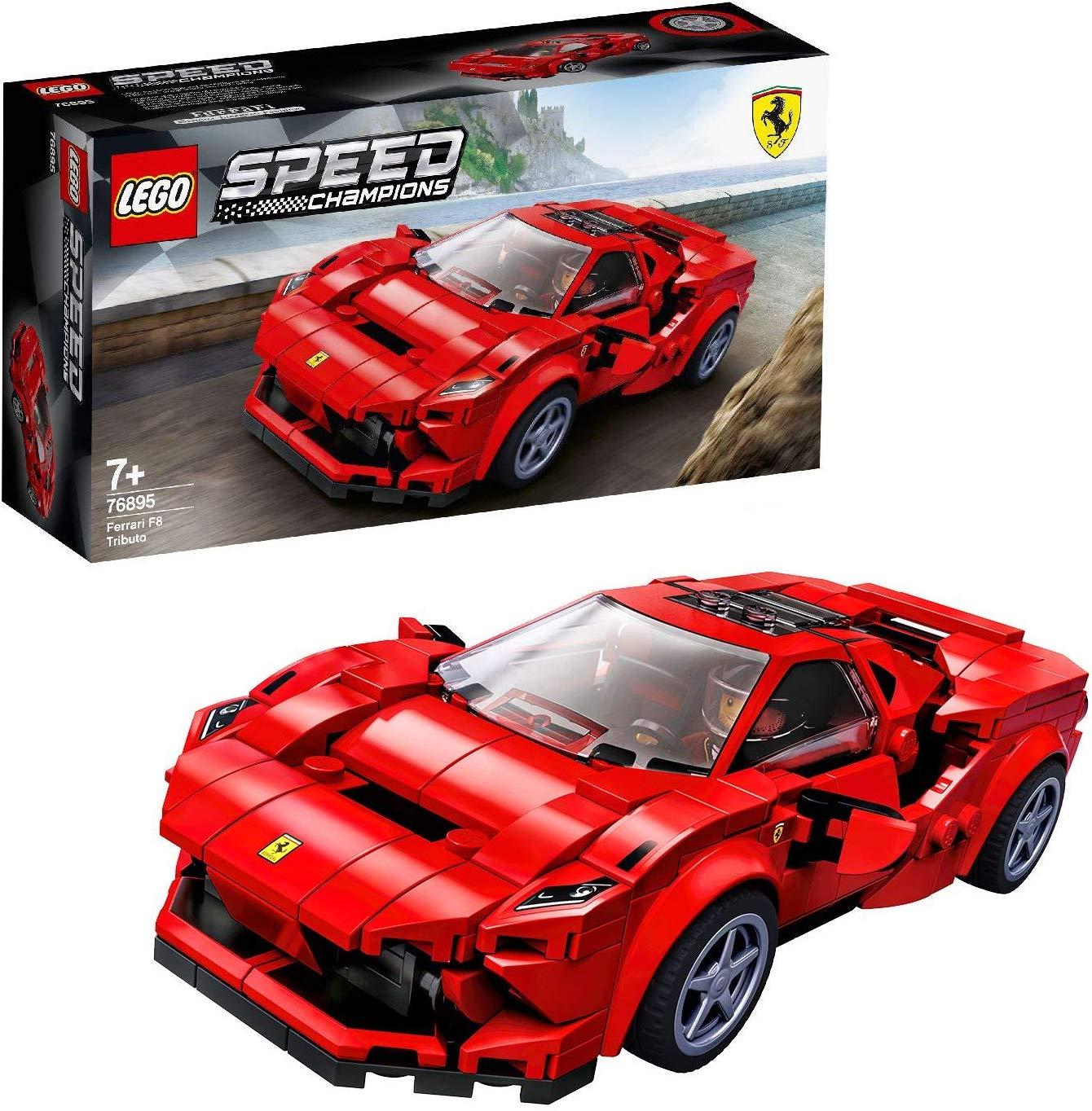 Magrudy.com - LEGO Speed Champions Ferrari F8 Tributo 76895 
