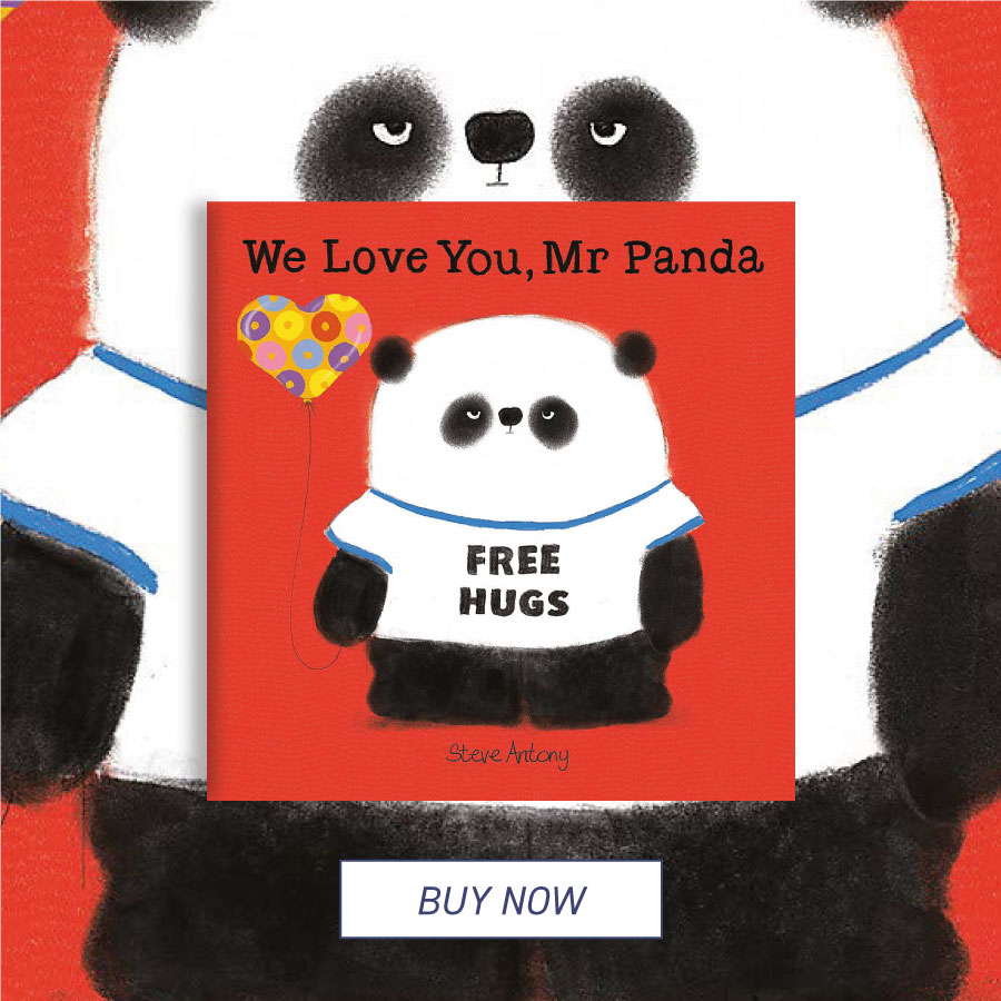 CFHOTM June 20 We Love You, Mr Panda 900x900