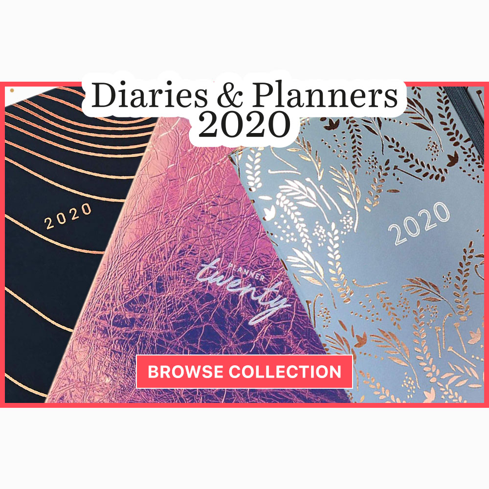 Diaries and Planners Highlight Jan 20