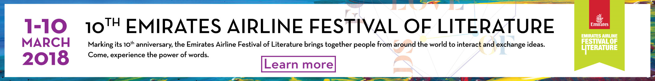 Emirates Airline Festival of Literature - category with learn more