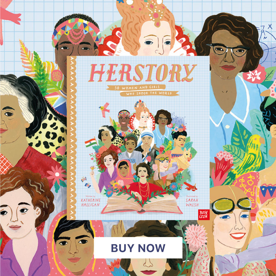 CNFHOTM JAN21 herstory-50-women-and-girls-who-shook-the-world900x900