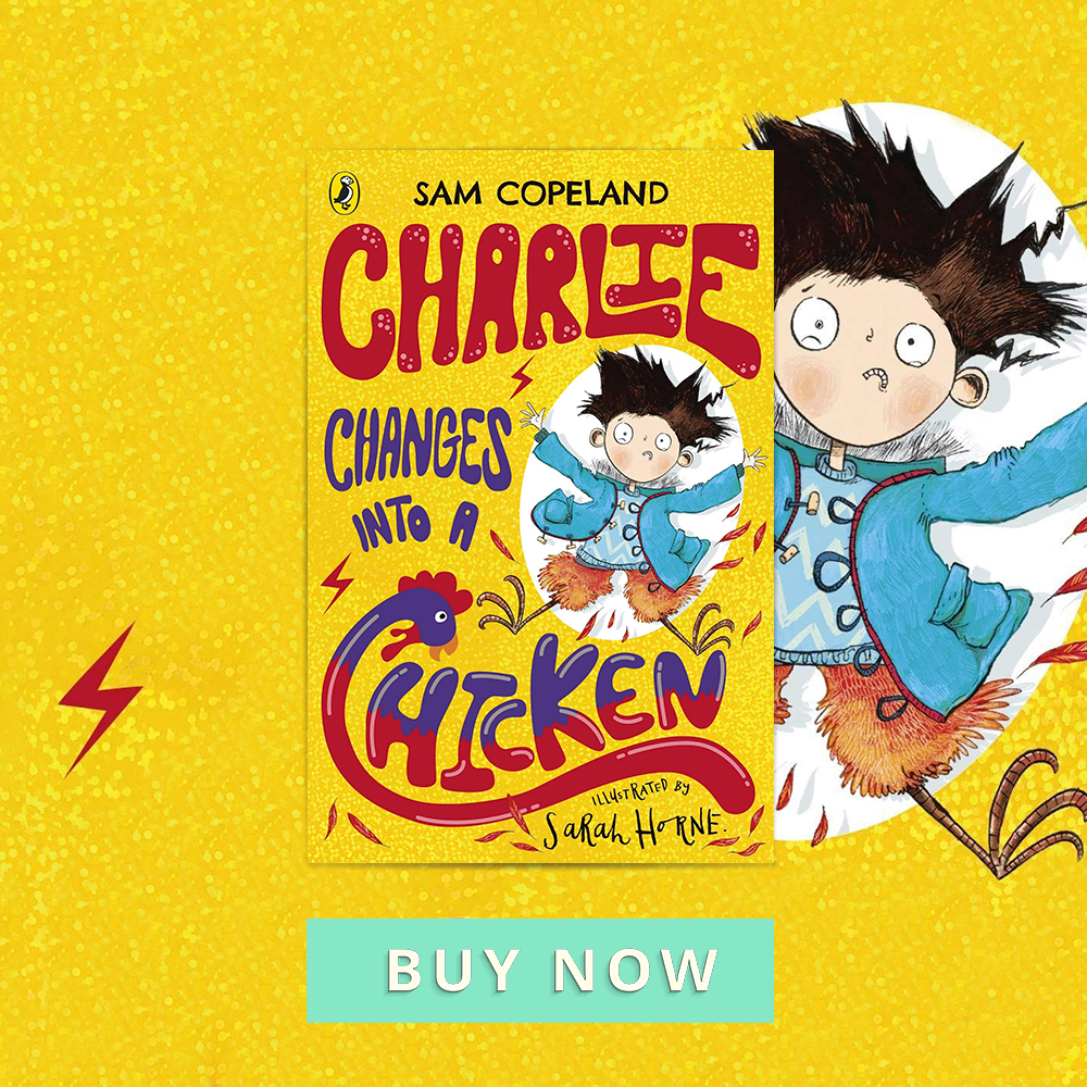 CHOTM MAR 19 Charie Changes into a chicken 900x900