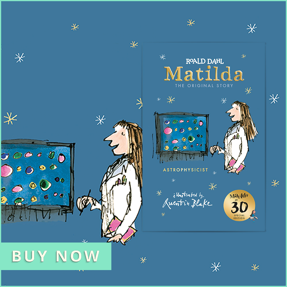 Nov CHOTM Matilda at 30: Astrophysicist 900x900
