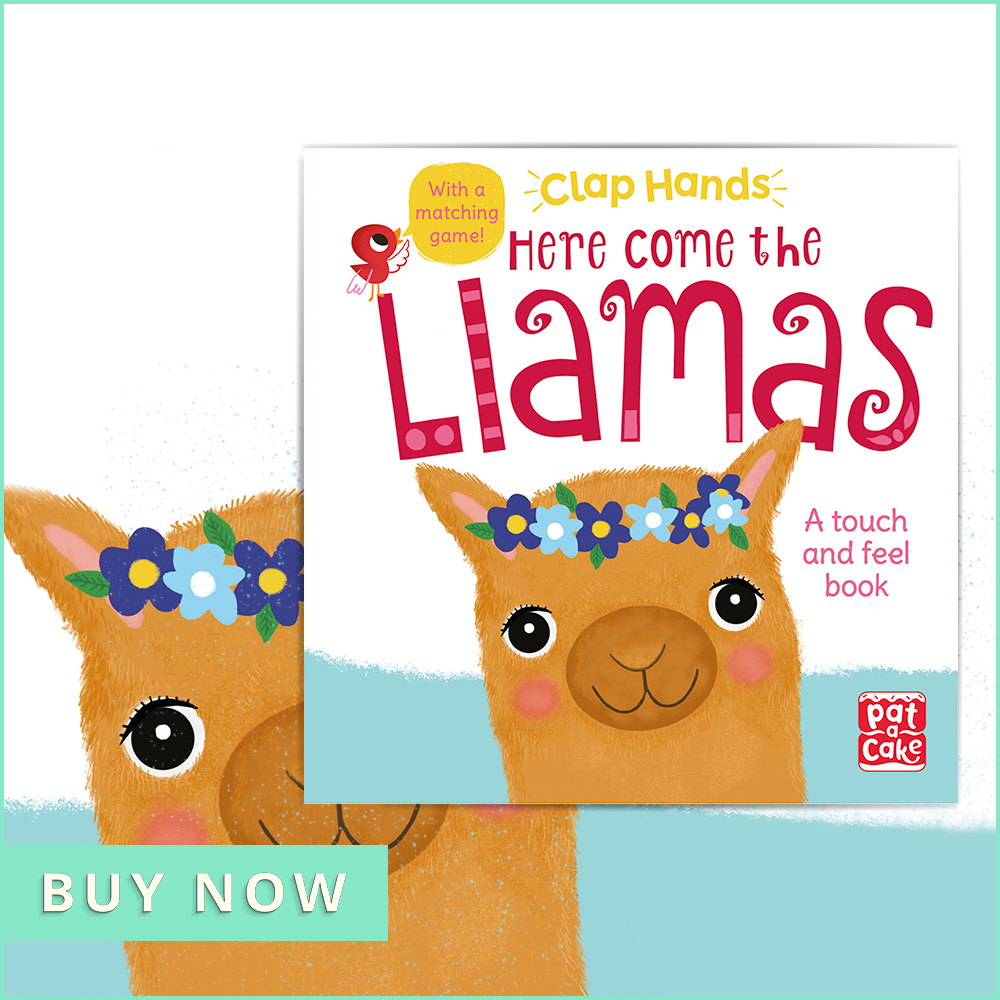 Nov CHOTM Clap Hands: Here Come the Llamas 900x900
