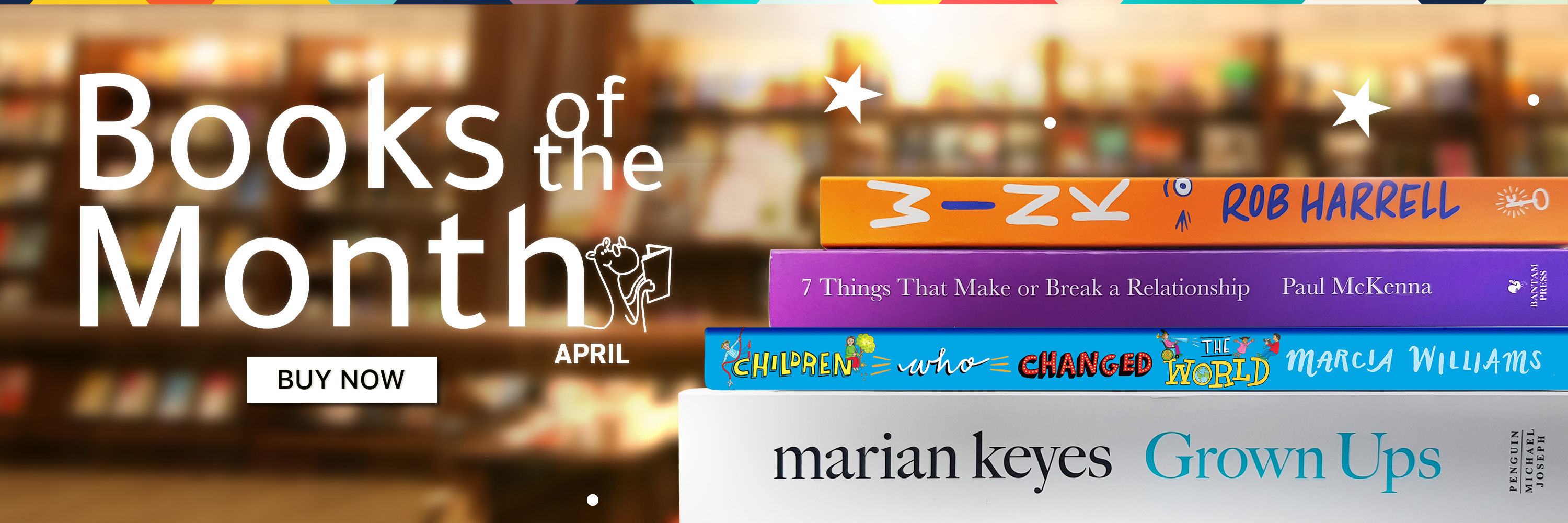 Books of the Month - 3000x1000