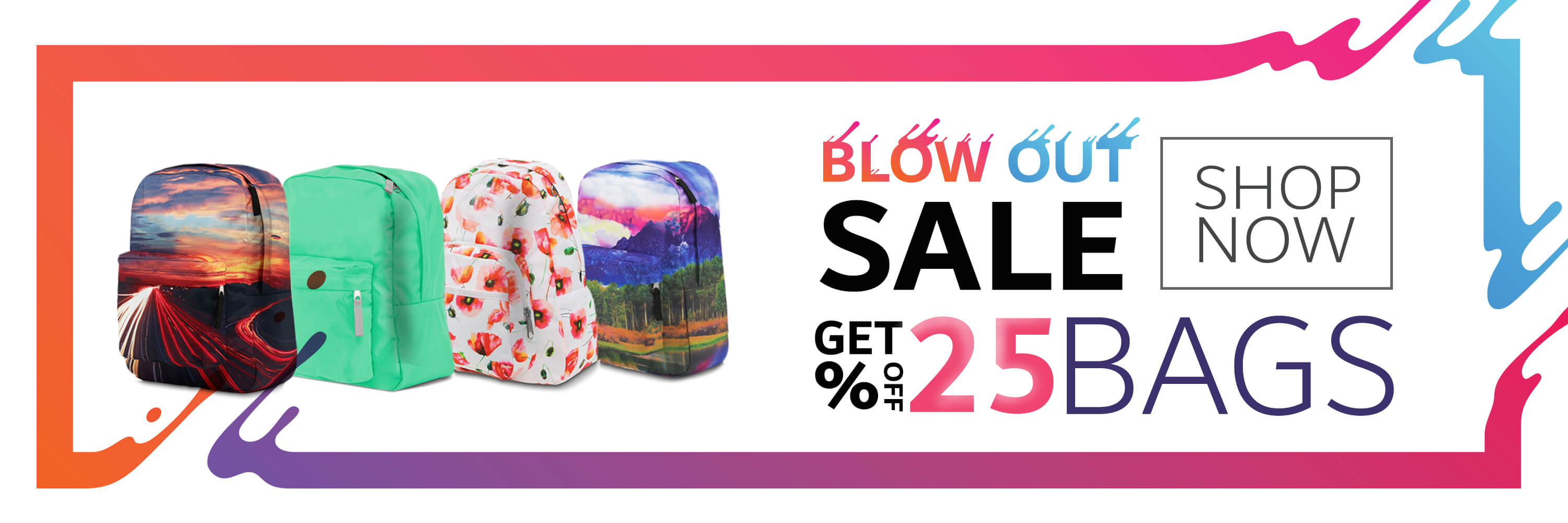 Blowout Bag Sale
