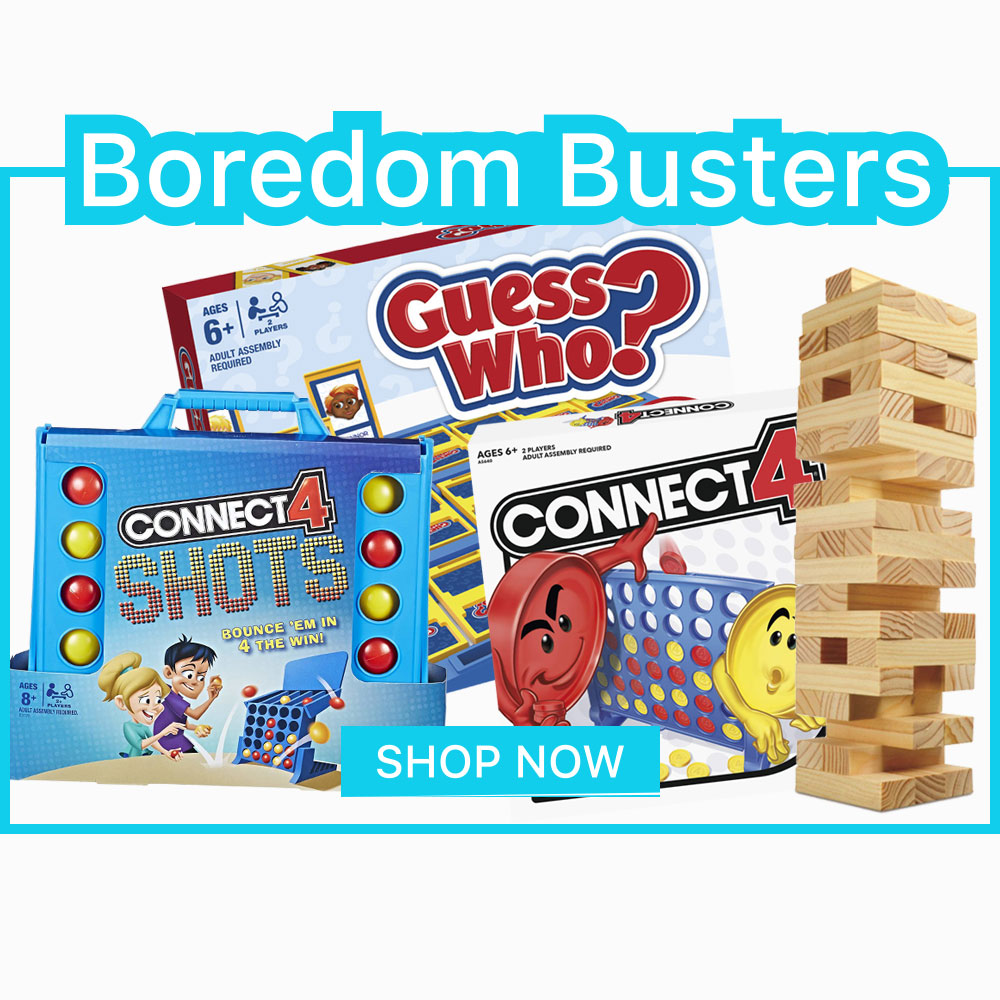 Boredom Busters Homepage Banner