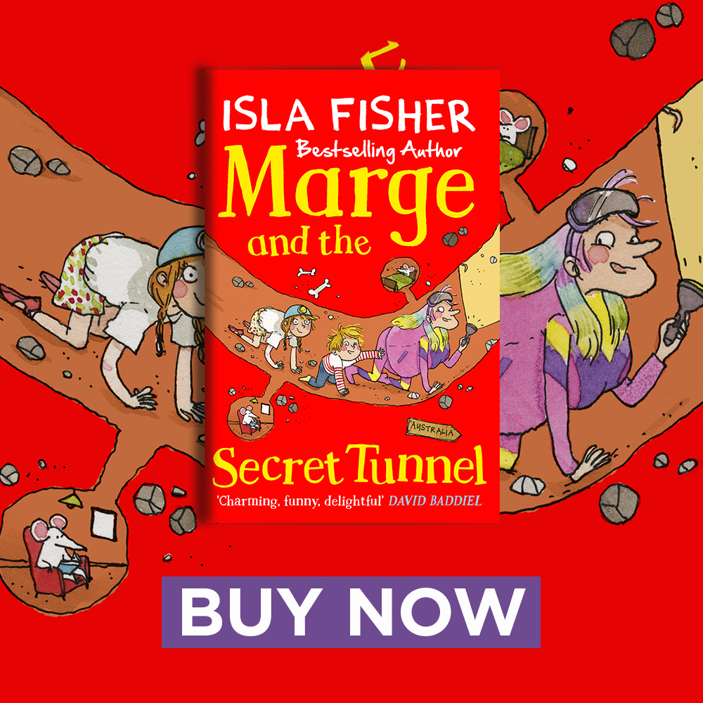 Marge and the Secret Tunnel CHOTM 900x900