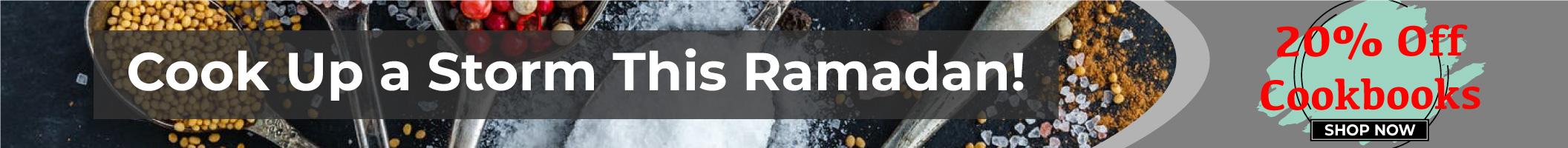 Ramadan Cookbook offer homepage banner 2112x200