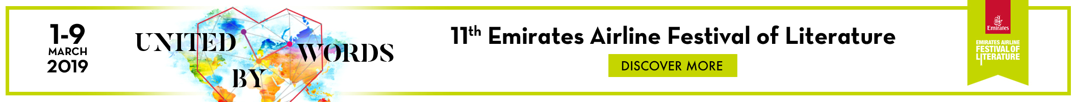 Emirates Airline Festival of Literature home page banner 2112x200