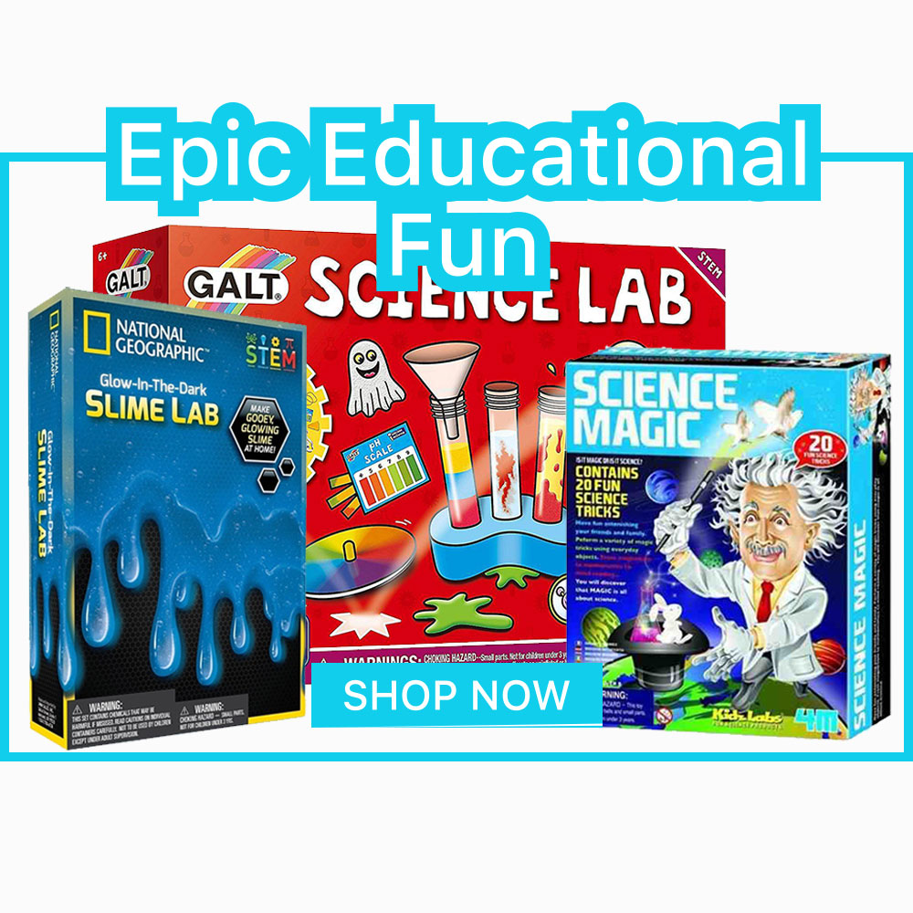 Epic Educational Fun homepage banner