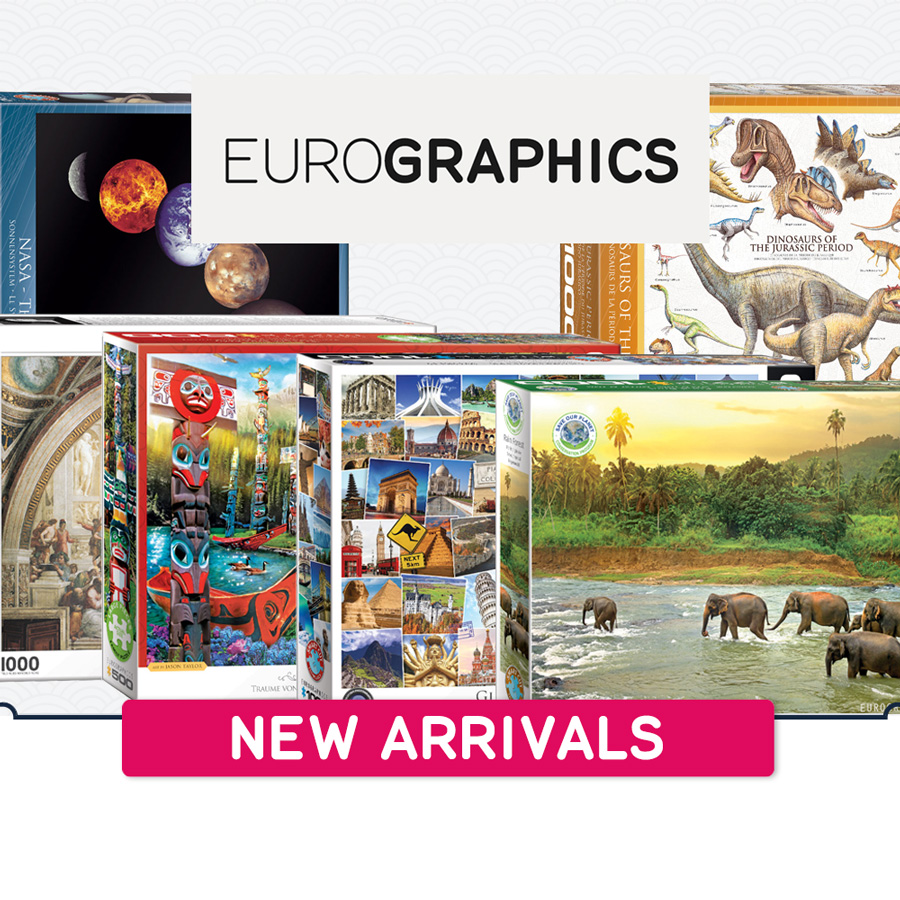 New arrivals Eurographics 900x900
