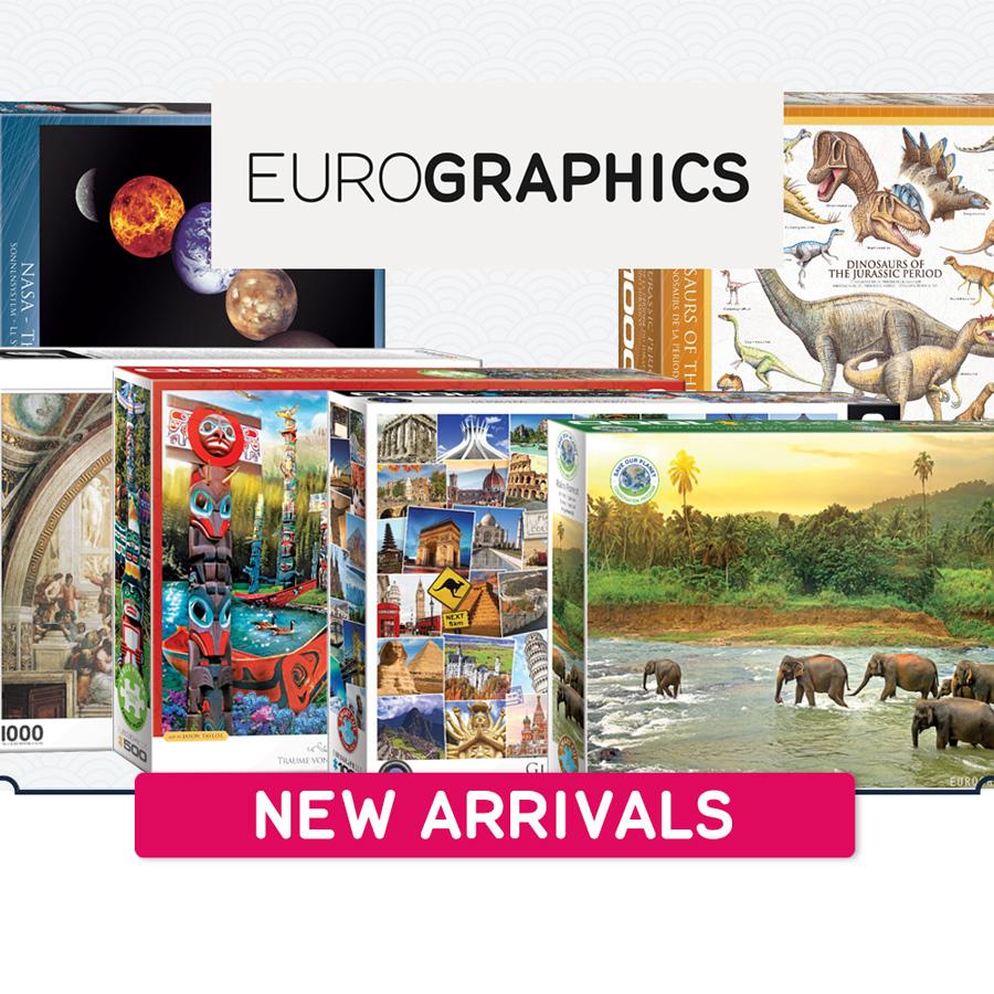 New arrivals Eurographics 900x900