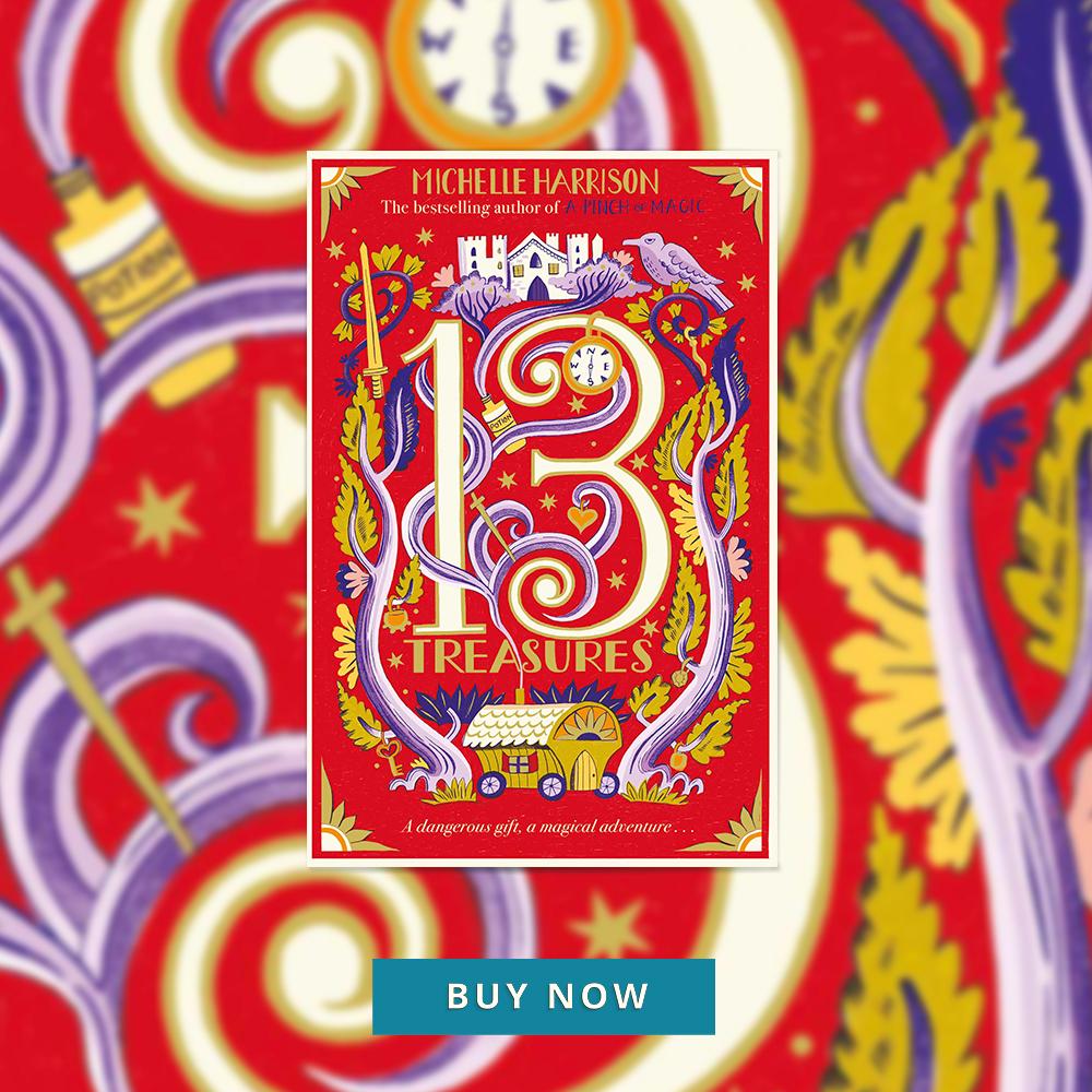 CFHOTM Sept 19 The Thirteen Treasures 400x400