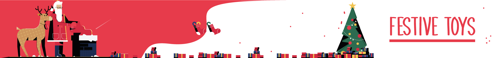 Festive Toys landing page banner