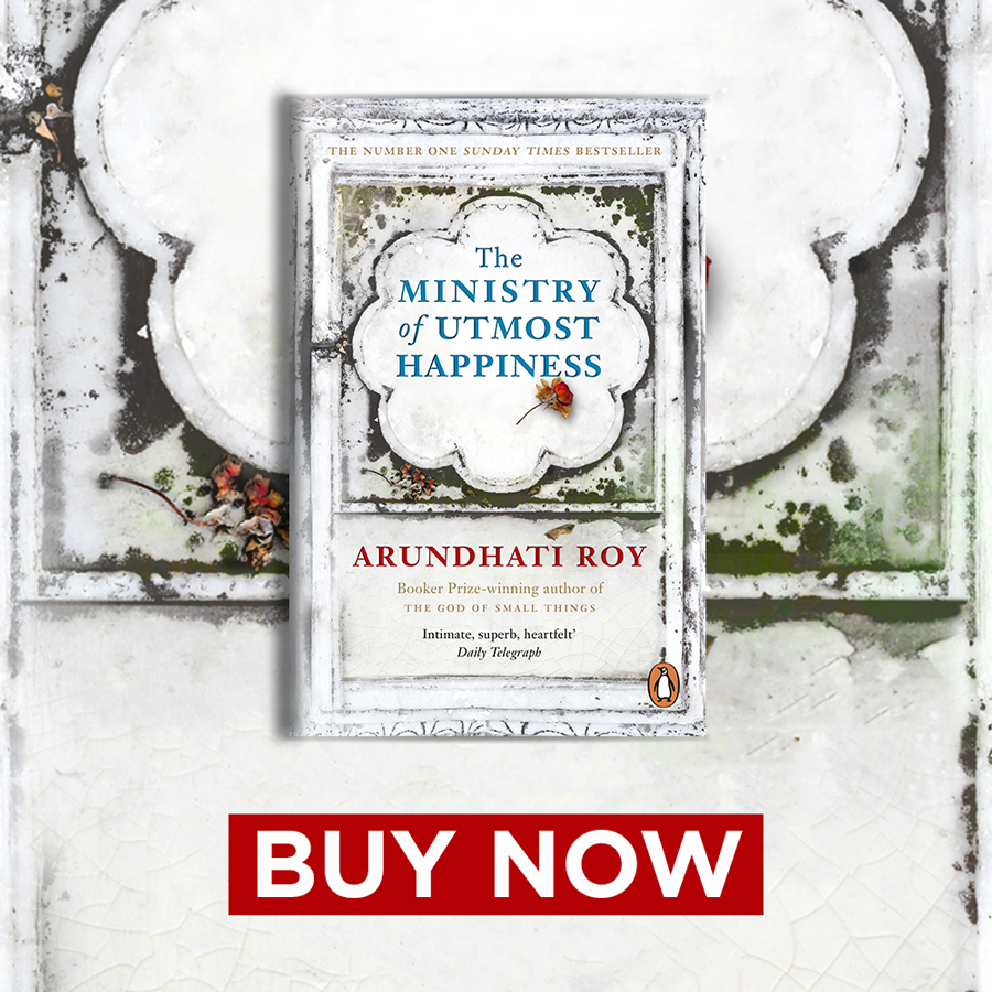 The Ministry of Utmost Happiness FHOTM 900x900
