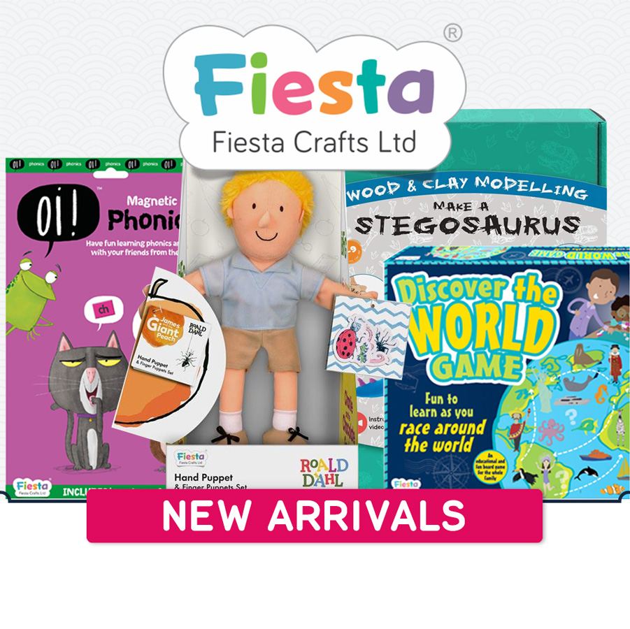 New arrivals Fiesta Crafts 900x900