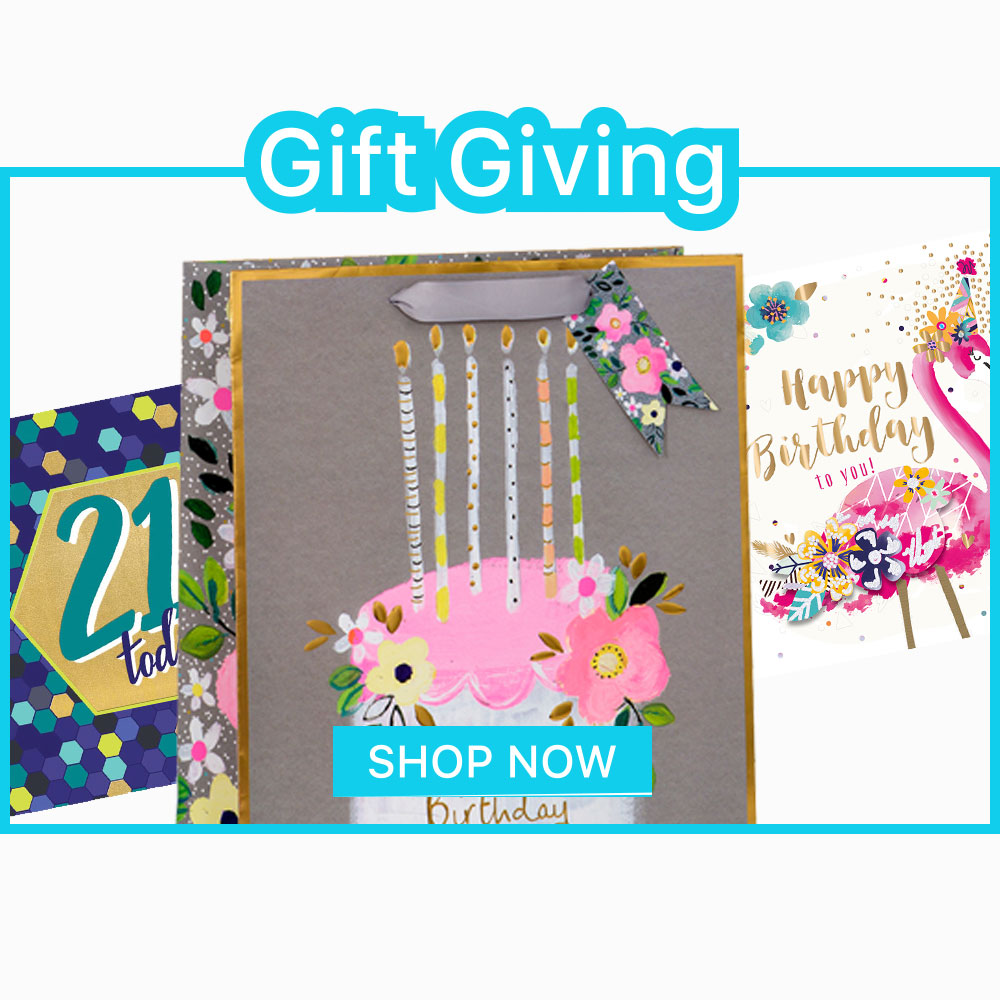 Gift Giving homepage banner