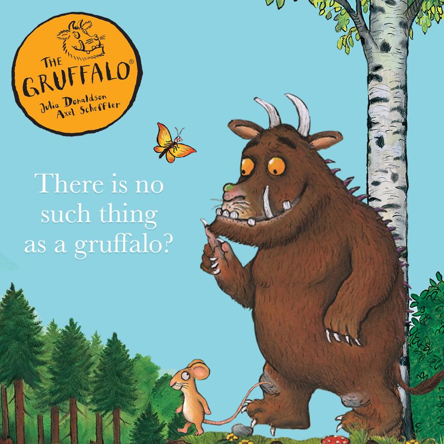 Children's Popular Authors Blocks The Gruffalo 900x900