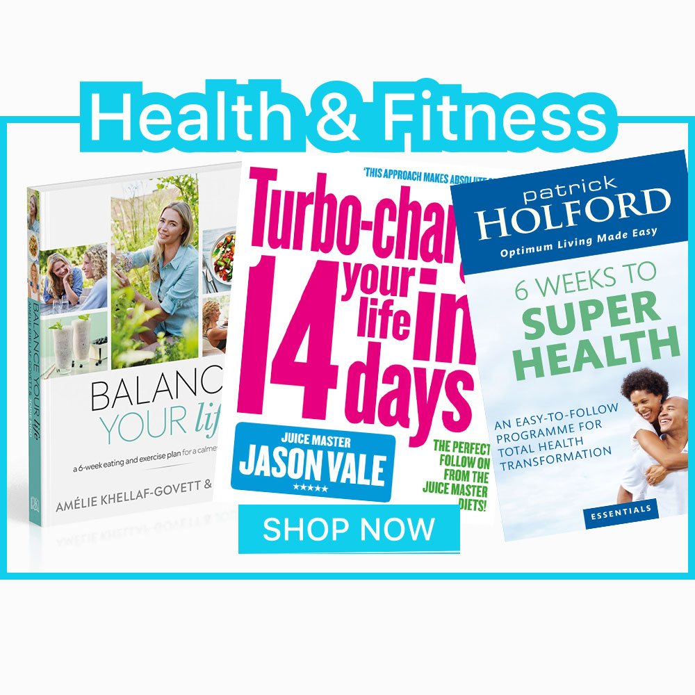 Health and Fitness Homepage Banner