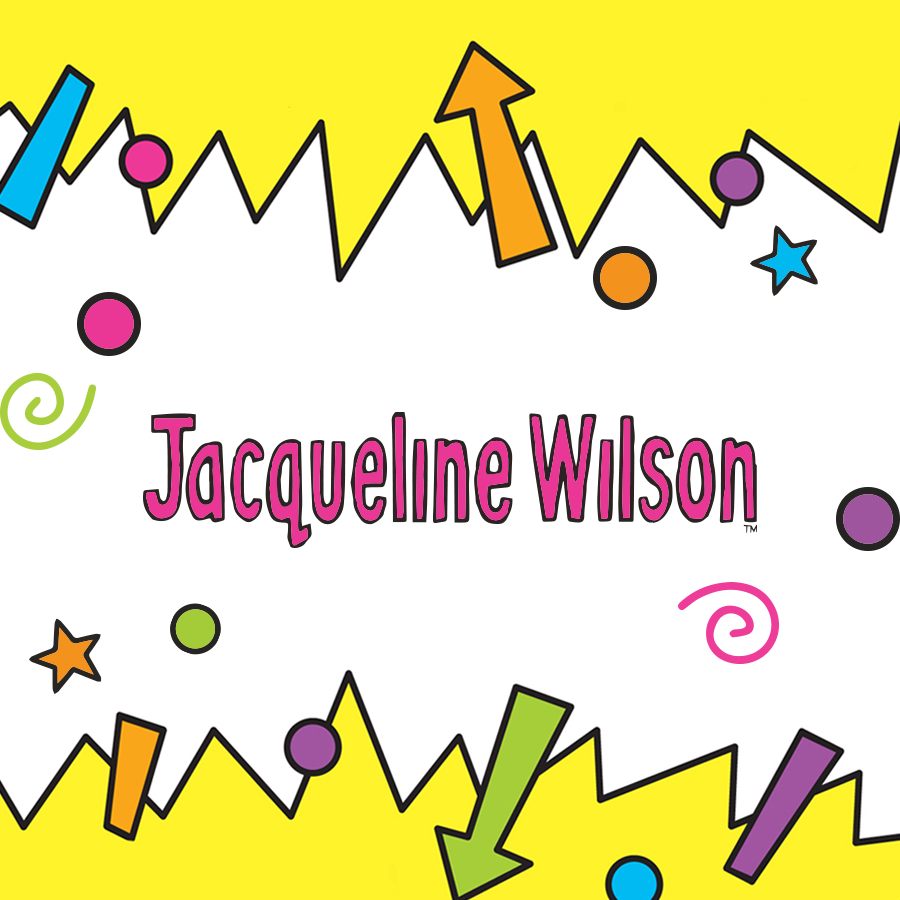 Children's Popular Authors Blocks Jaqueline Wilson 900x900