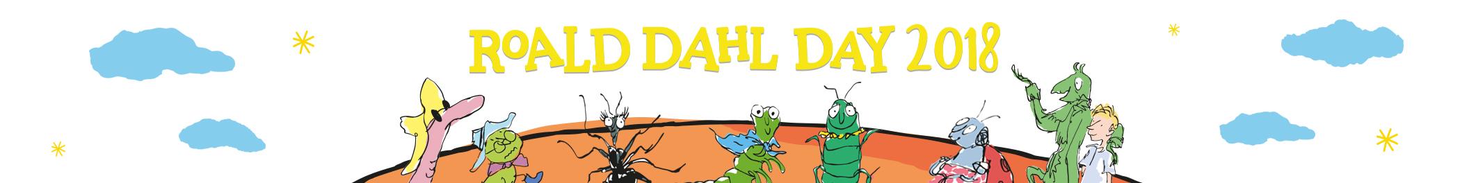 Roald Dahl Day Landing Page Banner 2112x264