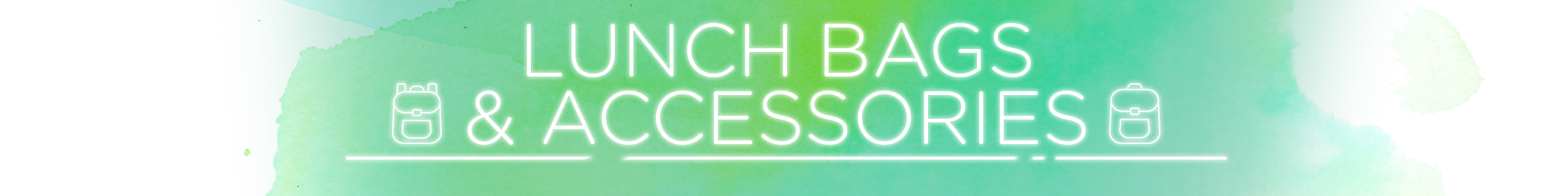 Lunch bags and accessories category banner 2112x264