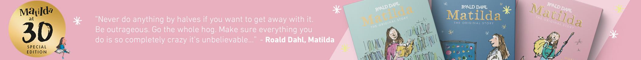 Matilda Turns 30 Landing Page Banner 2112x200