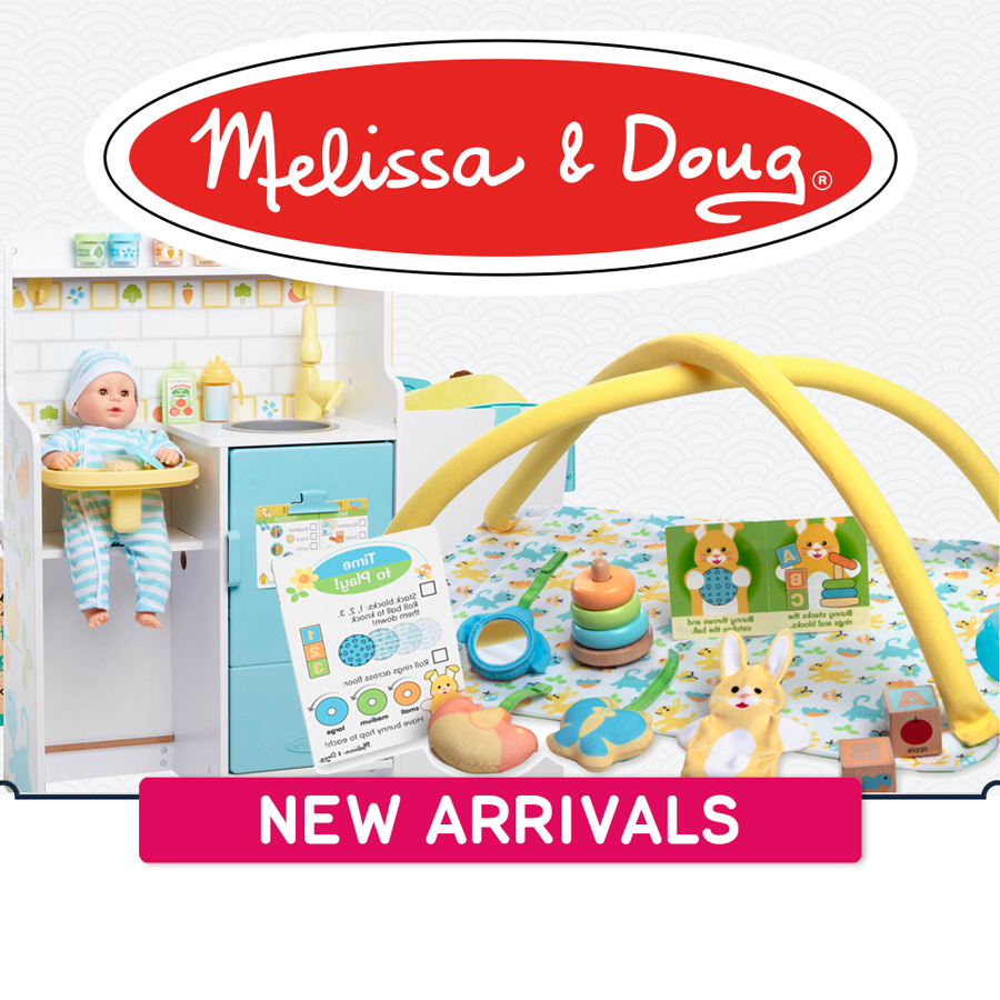 New arrivals Melissa & Doug 900x900