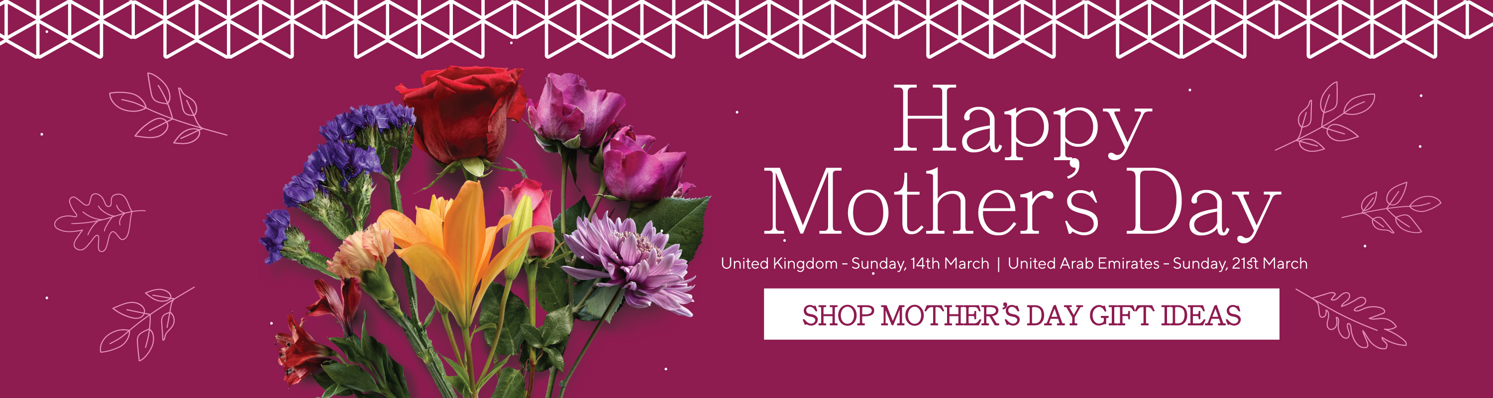 Mothers Day Homepage banner 21