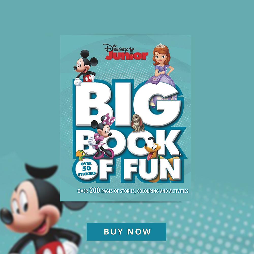 CNFHOTM Sept 19 Disney Junior Big Book of Fun 400x400