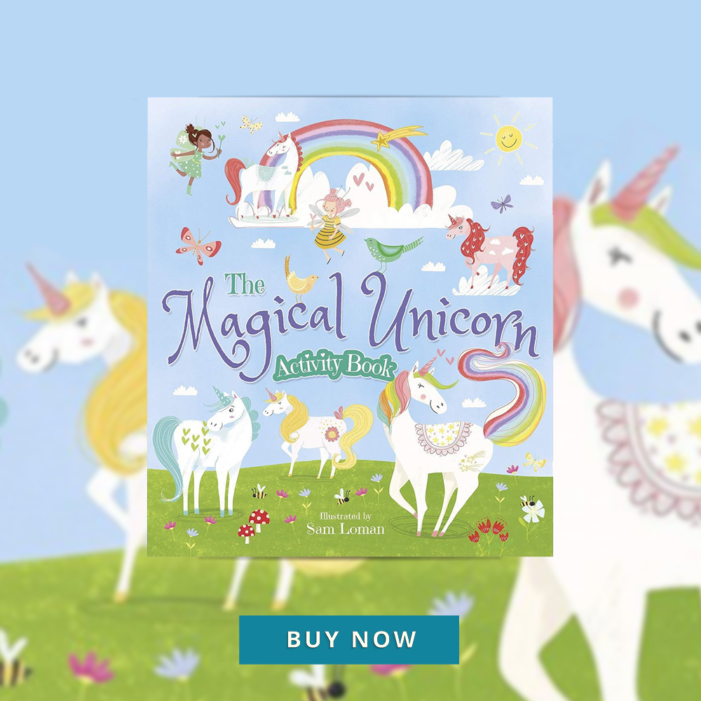 CNFHOTM Sept 19 The Magical Unicorn Activity Book 400x400