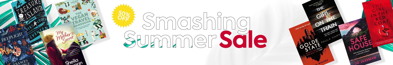 Smashing Summer Sale Homepage banner