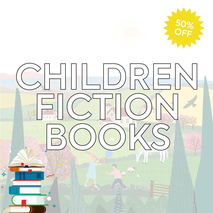 Smashing Summer Sale Children's Fiction Books Landing Page Banner-1