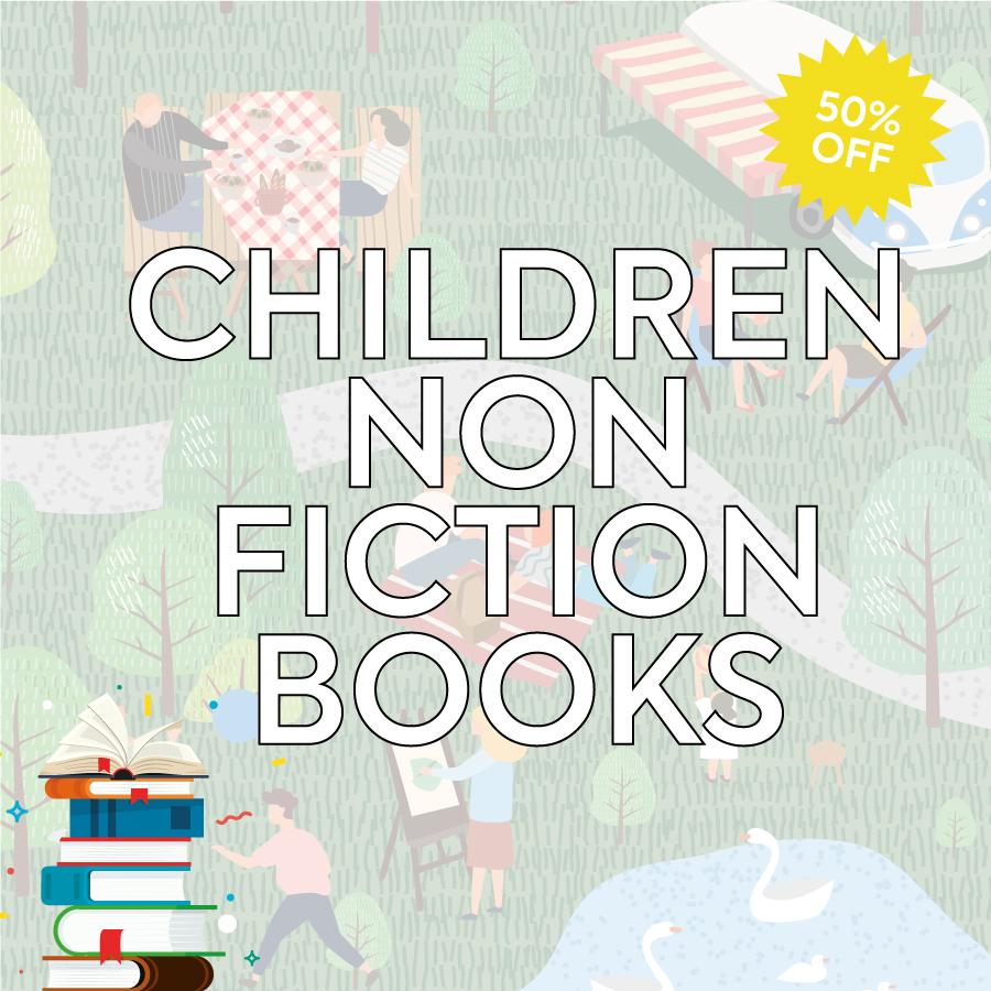 Smashing Summer Sale Children's Non Fiction Books Landing Page Banner-1