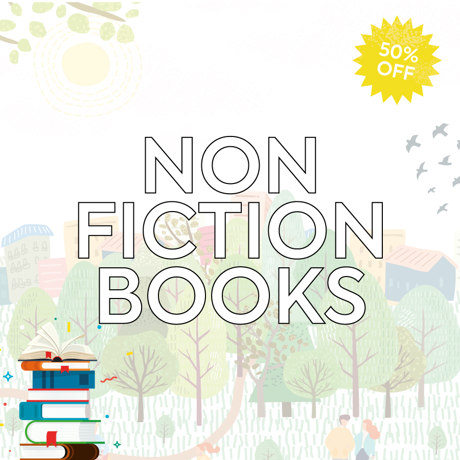 Smashing Summer Sale Non Fiction Books Landing Page Banner-1