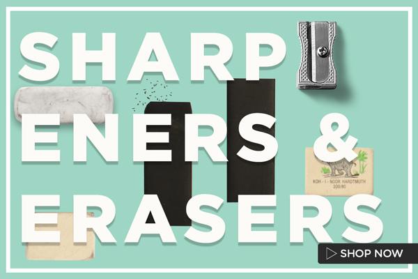 BTS Sharpeners & Erasers 600x400
